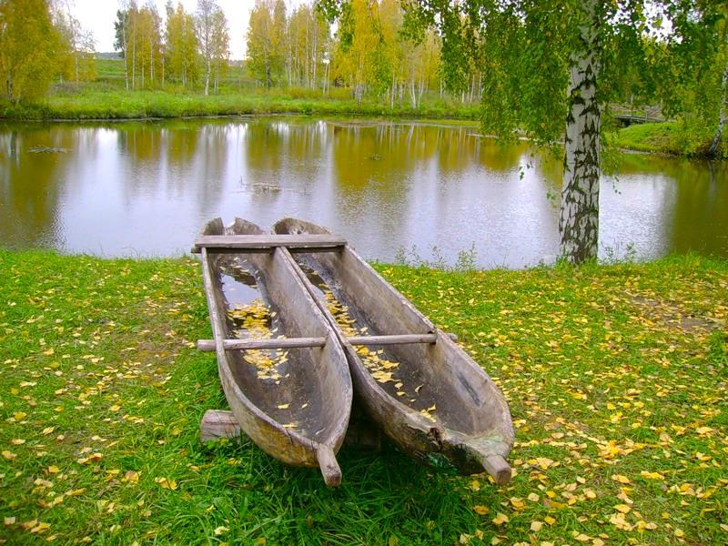 Лодка долбленка своими руками