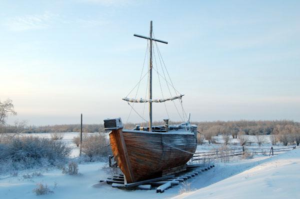 лодка шняка парусная соревнования поморы